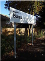 TL9033 : Welcome to Bures sign by Adrian Cable