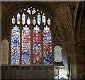 SO7745 : Great Malvern Priory: Millennium window (2) by Bob Harvey
