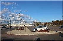 TQ7669 : The car park at Chatham Dockyard by David Howard