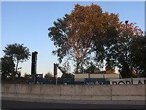 TQ3881 : Poplar Works construction by David Howard