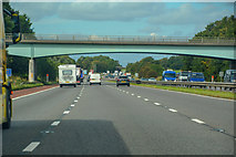 SD4953 : Ellel : M6 Motorway by Lewis Clarke