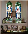 SJ9594 : War Memorials in St Thomas the Apostle by Gerald England