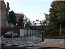TQ3584 : Housing estate by Wick Road, Hackney by David Howard