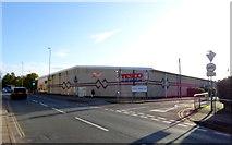 SO6302 : Tesco supermarket, Lydney by JThomas