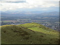 NN9811 : Ben Effrey hill fort by Alan O'Dowd