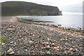 ND2098 : Stony beach near Rackwick by Bill Boaden