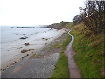 NO5000 : Fife Coastal Path at Ardross by Oliver Dixon
