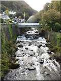 SS7249 : The West Lyn cascades down into Lynmouth by Roger Cornfoot