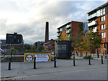 SK3588 : Approaching the Kelham Island Industrial Museum by Stephen Craven