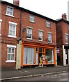 SO4382 : Orange shop front, Market Street, Craven Arms by Jaggery