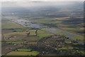 TL4480 : Fen and flooded Ouse washes near Mepal: aerial 2019 by Chris