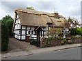 SO7845 : Newly thatched roof by Philip Halling