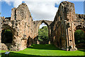 SJ7314 : The Chancel of Lilleshall Abbey by Jeff Buck