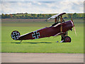 TL4646 : The Red Baron at Duxford by David Dixon