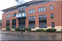 SU1584 : Offices on Clarence Street, Swindon by David Howard