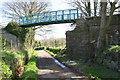 NX9922 : Road bridge over dismantled railway by Luke Shaw