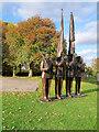 TL4545 : The Honor Guard Statue, IWM Duxford by David Dixon