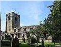 SD8961 : Church of St Michael the Archangel, Kirkby Malham by Bill Harrison
