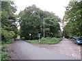 TQ3758 : Road junction at Chelsham Common, near Warlingham by Malc McDonald