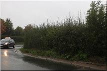 SU1082 : Wharf Road at the junction of Hay Lane by David Howard