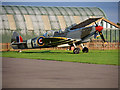 TL4646 : Two-seater Spitfire at Duxford Airfield by David Dixon