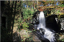 SK3160 : Lumsdale Falls by Andy Stephenson
