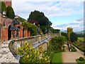 SJ2106 : The Aviary terrace, Powis Castle by Robin Drayton