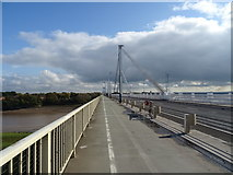 ST5491 : On the Wye and Severn Bridge by JThomas