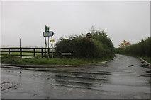 SU3788 : Faringdon Road at the junction of Silver Lane by David Howard