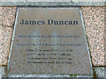 NS1781 : James Duncan Memorial, Kilmun by Thomas Nugent