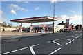 SD5604 : Esso Filling Station on Warrington Road, Wigan by David Dixon