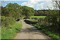 ST5310 : Bridge over railway by Coker Wood by Derek Harper