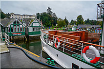 SD4096 : Bowness on Windermere : Bowness Pier by Lewis Clarke