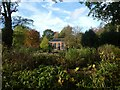 SJ7387 : Summer house in garden of Dunham Massey by David Smith
