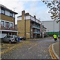 TQ3479 : Bermondsey: at the corner of Bevington Street by John Sutton