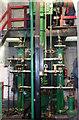 SK3155 : Leawood pump - driving position by Chris Allen