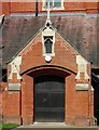 TQ2672 : St Andrew's Church Door in Earlsfield, Greater London by John P Reeves