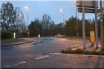 SU6088 : Roundabout on Calvin Thomas Way, Winterbrook by David Howard