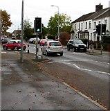 ST1580 : Ty'n-y-parc Road pelican crossing, Cardiff by Jaggery