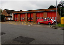 ST1580 : Whitchurch Fire Station, Cardiff by Jaggery