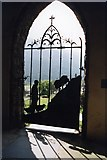 NY1717 : The Porch Gate by Peter Jeffery