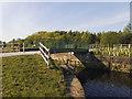 SE3131 : New bridge, Knostrop Cut (1) by Stephen Craven