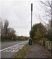 ST1580 : Northern Avenue telecoms mast and cabinets, Cardiff by Jaggery