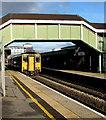 SS9079 : Maesteg train in Bridgend station by Jaggery
