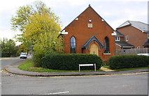 SU7167 : Converted Methodist Chapel at Basingstoke Road / Grazeley Road junction by Luke Shaw