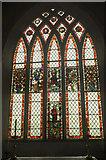 SX4563 : Window, Church of St Andrew, Bere Ferrers by Derek Harper
