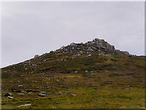 Q3102 : A Rocky Hill near Clogher Head by David Dixon