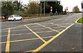 ST1580 : Yellow grid on the A470 Northern Avenue, Cardiff by Jaggery