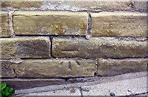 SE1527 : Benchmark on #526 Huddersfield Road, RendezVous Deli Bar by Luke Shaw
