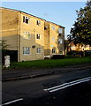 ST0666 : Three storey block of flats, Station Road, Rhoose by Jaggery